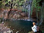 Portugal, Madeira, Levada 25 Fontes: Wandern entlang der Levadas   Portugal, Madeira, Levada 25 Fontes: hiking along the Levadas
