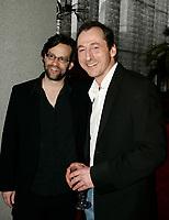 April 3rd 2006, Montreal (QC) CANADA<br /> Alexis Martin (L) Luc Picard (R)  , Premiere Un Dimanche a Kigali<br /> Photo : (c) 2006 Pierre Roussel / Images Distribution