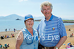 Marie and Tom O'Brien from St Brendans Park enjoying a stroll in Fenit on Sunday.