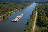 Barge on Tombigbee Waterway