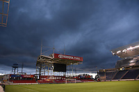 Bridgeview, IL - Saturday July 23, 2016: Toyota Park prior to a regular season National Women's Soccer League (NWSL) match between the Chicago Red Stars and the Houston Dash at Toyota Park.