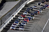 #98: Chase Briscoe, Stewart-Haas Racing, Ford Mustang Ford Performance Racing School and #20: Harrison Burton, Joe Gibbs Racing, Toyota Supra Morton Buildings/DEX Imaging