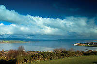 The Firth of Clyde and Gourock from Tower Hill, Gourock, Inverclyde
