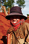 A Jarai woman smiles as she takes a break from planting cassava to pose for a photograph in the hills near the Central Highlands town of Kon Tum, Vietnam. The Jarai are the largest of more than two dozen tribes known formerly in the West as the Montagnards, but who are now called the Dega. April 14, 2012.