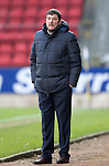 St Johnstone v Stenhousemuir…21.01.17  McDiarmid Park  Scottish Cup<br />Saints boss Tommy Wright<br />Picture by Graeme Hart.<br />Copyright Perthshire Picture Agency<br />Tel: 01738 623350  Mobile: 07990 594431