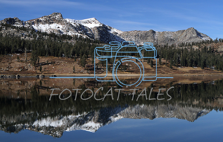 Upper Blue Lake in Alpine County, Ca. near South Lake Tahoe on Wednesday, Nov. 3, 2010. .Photo by Cathleen Allison