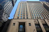 Toronto (ON) CANADA - July 2012 - Bay Street Financial District : Bank of Nova Scotia