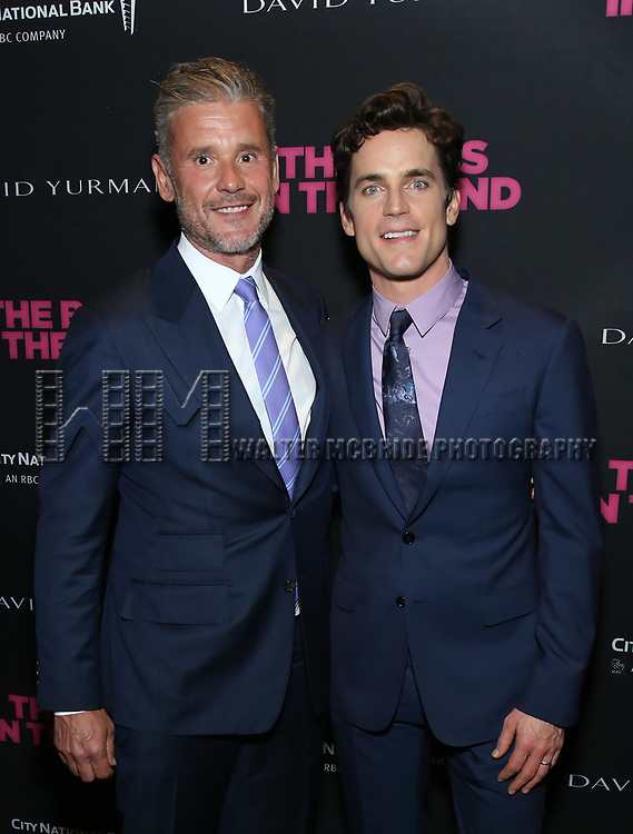 Simon Halls and Matt Bomer attends the 'The Boys In The Band' 50th Anniversary Celebration at The Second Floor NYC on May 30, 2018 in New York City.