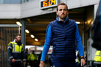 Harry Kane of Tottenham Hotspur arrives at Rodney Parade prior to kick off of the Fly Emirates FA Cup Fourth Round match between Newport County and Tottenham Hotspur at Rodney Parade, Newport, Wales, UK. Saturday 27 January 2018