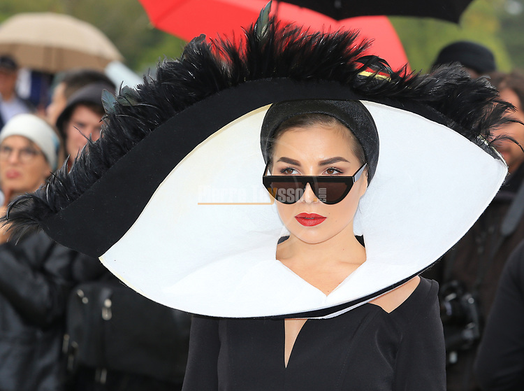 Paris Fashion Week Women SS 2020 - Christian Dior Spring/Summer 2020, in Paris, France  on September 24, 2019. Guests arrival Karina Nigay