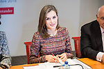 20161219. Queen Letizia at the meeting of help against drug addiction.