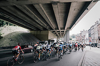 Under the bridge<br /> <br /> Ster ZLM Tour (2.1)<br /> Stage 4: Hotel Verviers > La Gileppe (Jalhay)(190km)