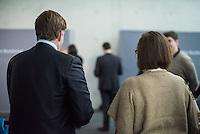 68. Sitzungs des NSA-Untersuchungsausschuss des Deutschen Bundestages. Geladen war fuer die Ausschusssitzung der Sachverstaendige (Sonderermittler) der Bundesregierung, Dr. Kurt Graulich.<br /> Im Bild vrnl.: Martina Renner, Ausschuss-Obfrau der Linkspartei und Konstantin von Notz, Ausschuss-Obmann von Buendnis 90/Gruene.<br /> 5.11.2015, Berlin<br /> Copyright: Christian-Ditsch.de<br /> [Inhaltsveraendernde Manipulation des Fotos nur nach ausdruecklicher Genehmigung des Fotografen. Vereinbarungen ueber Abtretung von Persoenlichkeitsrechten/Model Release der abgebildeten Person/Personen liegen nicht vor. NO MODEL RELEASE! Nur fuer Redaktionelle Zwecke. Don't publish without copyright Christian-Ditsch.de, Veroeffentlichung nur mit Fotografennennung, sowie gegen Honorar, MwSt. und Beleg. Konto: I N G - D i B a, IBAN DE58500105175400192269, BIC INGDDEFFXXX, Kontakt: post@christian-ditsch.de<br /> Bei der Bearbeitung der Dateiinformationen darf die Urheberkennzeichnung in den EXIF- und  IPTC-Daten nicht entfernt werden, diese sind in digitalen Medien nach §95c UrhG rechtlich geschuetzt. Der Urhebervermerk wird gemaess §13 UrhG verlangt.]
