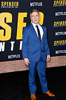 "LOS ANGELES, CA: 27, 2020: Dustin Tucker at the world premiere of ""Spenser Confidential"" at the Regency Village Theatre.<br /> Picture: Paul Smith/Featureflash"