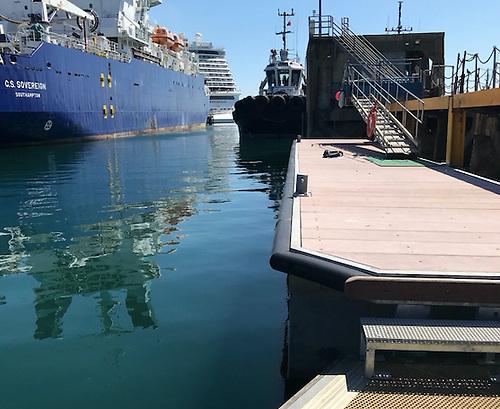 Inland and Coastal Marina Systems Port of Portland's tugboat berth