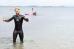 "Fergal O'Brien at the Clogherhead ""Round the Head Swim"".....(Photo credit should read Jenny Matthews/NEWSFILE)..."