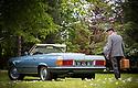 7/06/17 - ROUMARE - SEINE MARITIME - FRANCE - Essais Cabriolet MERCEDES 350 SL R107 de 1971 - Photo Jerome CHABANNE