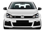 Straight front view of a 2011 Volkswagen Golf R 5 Door Hatchback Stock Photo