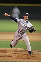 March 13, 2010:  Pitcher Alex Loftin of the Akron Zips vs. the Yale Bulldogs in a game at Henley Field in Lakeland, FL.  Photo By Mike Janes/Four Seam Images
