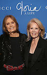 """Gloria Steinem and Daryl Roth attend the Opening Night Performance After Party for """"Gloria: A Life"""" on October 18, 2018 at the Gramercy Park Hotel in New York City."""