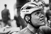 Jasper Stuyven (BEL/Trek-Segafredo) interviewed post-race<br /> <br /> 116th Paris-Roubaix (1.UWT)<br /> 1 Day Race. Compiègne - Roubaix (257km)