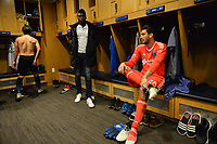San Jose, CA - Wednesday June 28, 2017: Andrew Tarbell during a U.S. Open Cup Round of 16 match between the San Jose Earthquakes and the Seattle Sounders FC at Avaya Stadium.