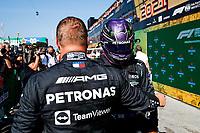 4th September 2021: Circuit Zandvoort, Zandvoort, Netherlands;   77 Valtteri Bottas FIN, Mercedes-AMG Petronas F1 Team, 44 Lewis Hamilton GBR, Mercedes-AMG Petronas F1 Team, F1 Grand Prix of the Netherlands at Circuit Zandvoort