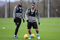 Cameron Carter-Vickers of Swansea City in action during the Swansea City Training at The Fairwood Training Ground, Swansea, Wales, UK. Tuesday 04 December 2018
