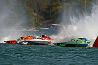 "Doug Rapp, GP-79 ""Bad Influence"", Ken Brodie II, GP-50 ""Intensity"", Brandon Kennedy, GP-25 ""H8 Cancer Racing""       (Grand Prix Hydroplane(s)"