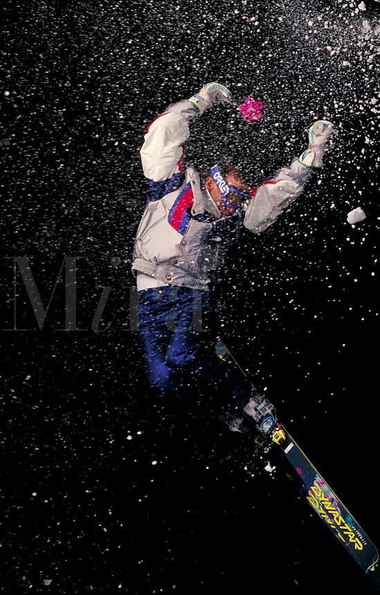 Mike Rawles (MR163) Alpine Skiing at night, Summit County, CO. Mike Rawles (MR163). Summit County, Colorado.