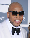 Flo Rida attends The 54th Annual GRAMMY Awards held at The Staples Center in Los Angeles, California on February 12,2012                                                                               © 2012 DVS / Hollywood Press Agency