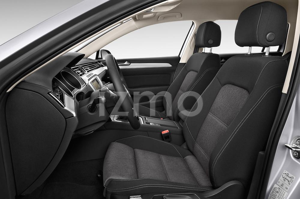 Front seat view of a 2015 Volkswagen Passat Comfort 5 Door Wagon Front Seat car photos