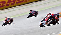 Aragon 24-09-2017 Moto Gp Spain photo Luca Gambuti/Image Sport/Insidefoto <br /> nella foto: Marc Marquez-Jorge Lorenzo-Dani Pedrosa
