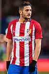 """Jorge Resurreccion Merodio """"Koke"""" of Atletico de Madrid looks on during their La Liga 2016-17 match between Atletico de Madrid vs Real Betis Balompie at the Vicente Calderon Stadium on 14 January 2017 in Madrid, Spain. Photo by Diego Gonzalez Souto / Power Sport Images"""