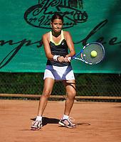05-08-13, Netherlands, Dordrecht,  TV Desh, Tennis, NJK, National Junior Tennis Championships, Shaimaa Arafa  <br /> <br /> <br /> Photo: Henk Koster