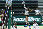 Tulane Volleyball defeats Arkansas State, 3-2, in the first round of the NIVC.