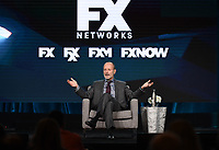 "PASADENA, CA - JANUARY 9: John Landgraf, Chairman, FX Networks & FX Productions attends the ""Executive Session"" during the FX Networks presentation at the 2020 TCA Winter Press Tour at the Langham Huntington on January 9, 2020 in Pasadena, California. (Photo by Frank Micelotta/FX Networks/PictureGroup)"