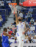 30th September 2021; Madrid, Spain:  Euroleague Basketball, Real Madrid versus Anadolu Efes Istanbul;  Vincent Poirier of team Real Madrid during the Matchday 1 between Real Madrid and Anadolu Efes Istanbul