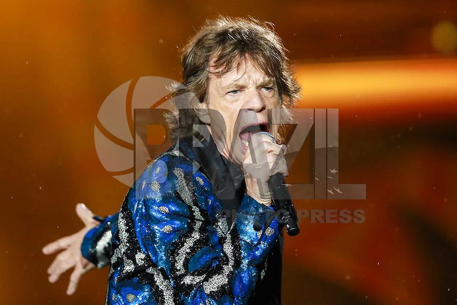 SÃO PAULO,SP, 24.02.2016 - ROLLING-STONES - Mick Jagger vocalista da banda britânica Rolling Stones, no estádio do Morumbi, na cidade de São Paulo, na noite desta quarta-feira (24). (Foto: Vanessa Carvalho/Brazil Photo Press)