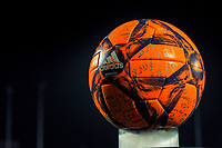 matchball pictured before a female soccer game between RSC Anderlecht Dames and Oud Heverlee Leuven on the 11 th matchday of the 2020 - 2021 season of Belgian Womens Super League , friday 22 nd of January 2021  in Tubize , Belgium . PHOTO SPORTPIX.BE | SPP | STIJN AUDOOREN