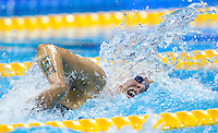 01 AUG 2012 - LONDON, GBR - Sarah Sjöström (SWE) of Sweden races in her Women's 100m Freestyle heat during the morning session of the London 2012 Olympic Games Swimming at the Aquatic Centre in the Olympic Park, in Stratford, London, Great Britain .(PHOTO (C) 2012 NIGEL FARROW)
