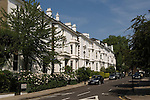Phillimore Gardens. The Royal Borough of Kensington and Chelsea, London W8. England. 2006.