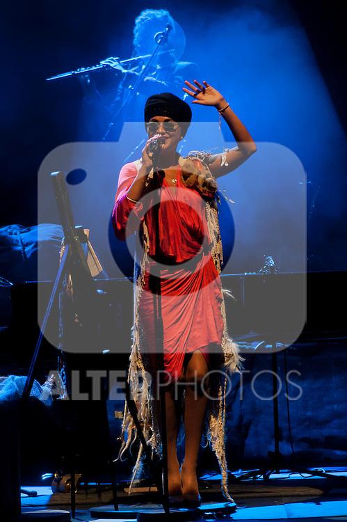 Melody Gardot in concert .July 19, 2012. (ALTERPHOTOS/Ricky)