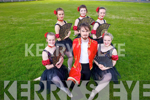EXAMS: International Dance Examinations will take place on June 14th for students from The Academy of Dance ranging in styles from ballet to tap. Front l-r: Aoife Garvey, Aki O'Rourke and Evangeline O'Dowd. Back l-r: Lauren O'Sullivan, Sophie Hand and Claire O'Riordan.