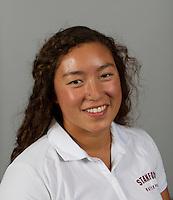 Alexis Lee a member of Stanford women's water polo team. Photo taken Tuesday, September 25, 2012. ( Norbert von der Groeben )