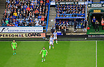Huddersfield Town 1 Wolverhampton Wanderers 0, 27/08/2016. John Smith's Stadium, Championship. Players and fans watch the ball. Photo by Paul Thompson.