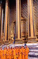 Thailand Bangkok The Wat Phra Keo temple