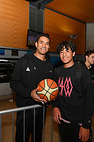 New Zealand Tall Blacks' Mika Vukona, FIBA World Cup Basketball Qualifier - NZ Tall Blacks v Jordan at Horncastle Arena, Christchurch, New Zealand on Thursday 29 November  2018. <br /> Photo by Masanori Udagawa. <br /> www.photowellington.photoshelter.com