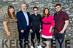 Cian Collins former student of CBS NS receiving his Confirmation in St Johns Church, Tralee on Sunday. L to r: Margaret O'Connor Behan, John, Cian, Pauline and Sean Collins.