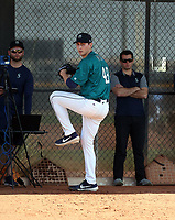 George Kirby - Seattle Mariners 2020 spring training (Bill Mitchell)